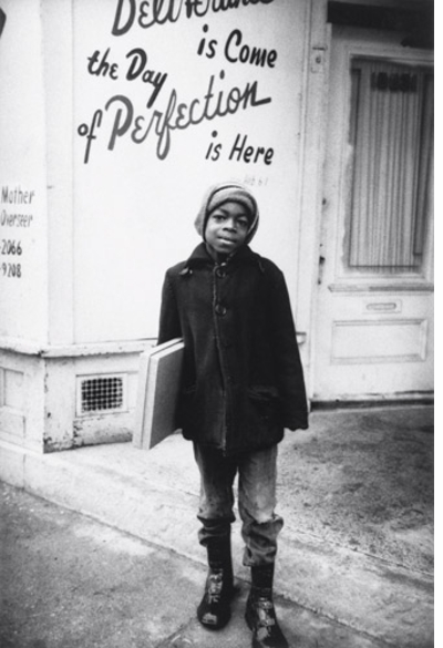 Enrico Natali's Detroit 1968: Young boy on the north side of Detroit
