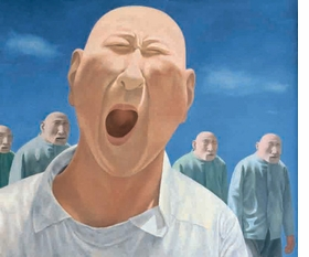 Featured image is reproduced from <I>Fang Lijun: The Precipice Over the Clouds</I>.