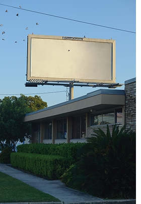 "Image: ""Untitled"" (1995), Billboard, installed at Interstate 35 & Hackberry, San Antonio, TX."