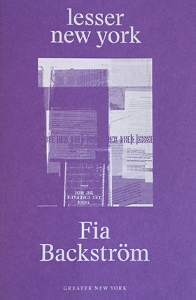 Fia Backström: Lesser New York