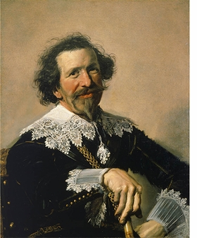 "Frans Hals, ""Pieter van den Broecke"", ca. 1633, is reproduced from <i>Frans Hals: A Phenomenon</i>."
