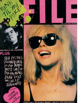 """Punk 'Til You Puke! Issue"" of <I>ISSUE</I> magazie, vol. 3, no. 4, Fall 1977"