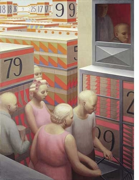 "Featured image, ""The Supermarket"" (1972), is reproduced from <I>George Tooker: Reality Recurs as a Dream</I>."