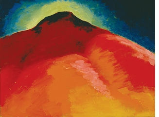 Georgia O'Keeffe: Watercolors, Mountain painting No. 22 - Special