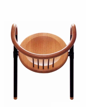 """Koma Chair"", 1985, is reproduced from <i>Gerd Lange Design</i>."