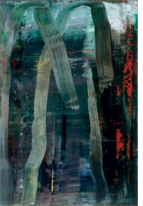 """Wald"" (2005) Gerhard Richter: Pictures / Series</I>."