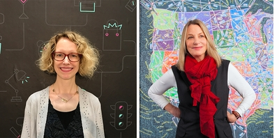 Goddess in the Details: Ellen Lupton & Paula Scher at The Strand