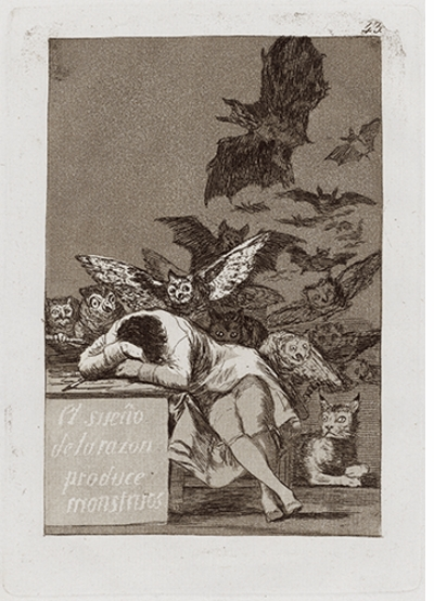 Goya: The Sleep of Reason Produces Monsters