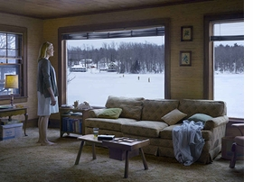 """The Disturbance"" is reproduced from <I>Gregory Crewdson: Cathedral of the Pines</I>."