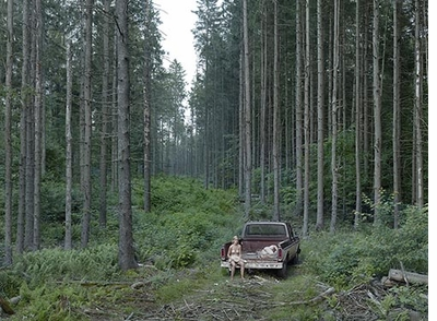 Gregory Crewdson: Cathedral of the Pines, Pickup Truck
