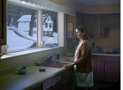 Gregory Crewdson: Cathedral of the Pines, Woman at Sink