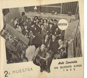 Featured image, an event program for <I>Arte Concreto, 2ª Muestra [Concrete Art, 2nd exhibition]</I> in Buenos Aires, 1945, is reproduced from <I>Gyula Kosice in Conversation with Gabriel Perez-Barreiro</I>.