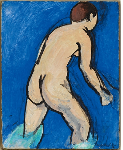 "Henri Matisse, ""The Bather"" (1909)"