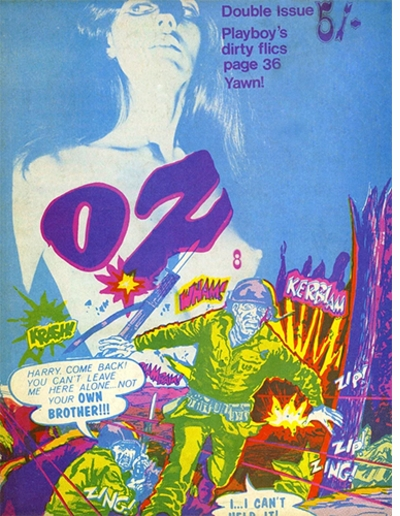 Hippie Modernism: The Struggle for Utopia, Oz magazine John Goodchild with Virginia Clive-Smith