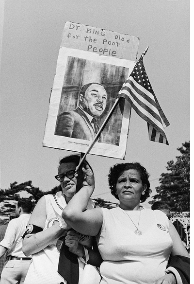 Honoring Dr. Martin Luther King Jr. with 'Jill Freedman: Resurrection City, 1968'
