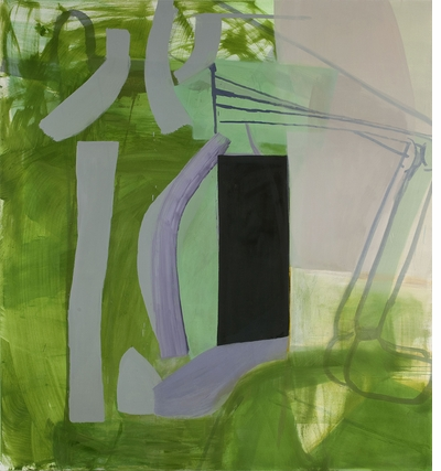 """I think painting is my sexual preference."" Amy Sillman: The ALL-OVER"