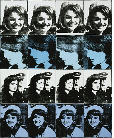 "International Pop: Andy Warhol, ""Sixteen Jackies"""