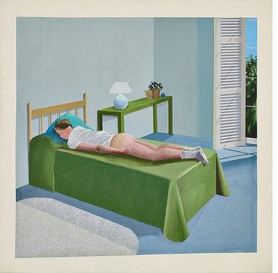 "International Pop: David Hockney, ""The Room, Tarzana"""