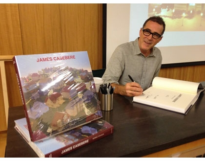 James Casebere and Hal Foster at Barnes & Noble