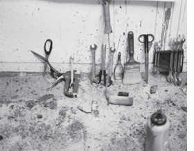 Featured image is reproduced from <I>Jim Dine: Tools</I>.