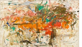 Untitled, 1960, is reproduced from 'Joan Mitchell: Drawing into Painting.'