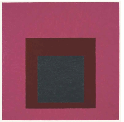 "Josef Albers: ""Homage to the Square, Guarded"" (1952)"