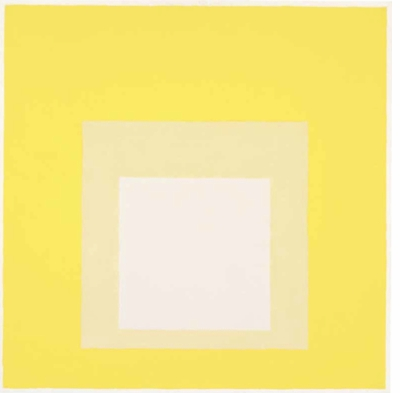 Josef Albers: 'Study for Homage to the Square, Now' (1962)