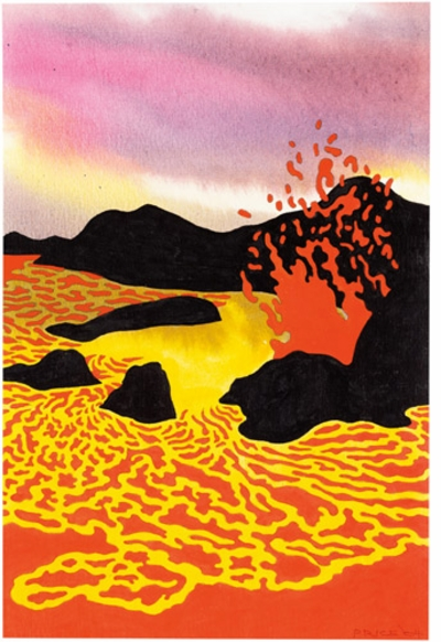 Ken Price: 'Hawaiian Lava Lake'