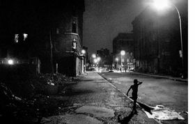 "Featured image, ""Boy On East 5th Street, 4th of July"" (1984), is reproduced from the 2014 Steidl edition of <I>Ken Schles: Invisible City</i>. Below is the book trailer."