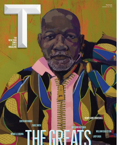 Kerry James Marshall is one of T Magazine's 'Greats'