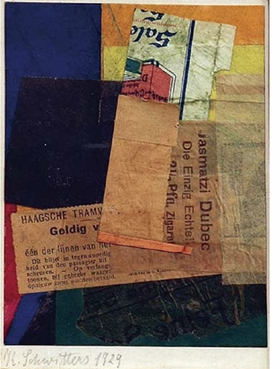 "Kurt Schwitters, ""Untitled (Valid)"", 1929, is reproduced from <i>Kurt Schwitters: Artist Philosopher</i>."