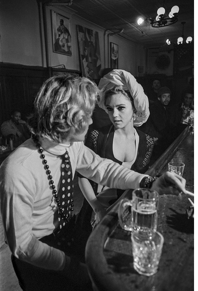 Larry Fink's Rediscovered Warhol Photos