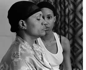 """Featured image, """"Momme Heads"""" video still (2008), is reproduced from <I>LaToya Ruby Frazier: The Notion of Family</I>."""