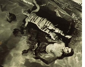 """Featured image, reproduced from <I>Le Surrealisme c'est moi!</I>, is of Salvador Dalí's 1939 """"Dream of Venus-Pavillon"""" (photograph by Eric Schaal)."""