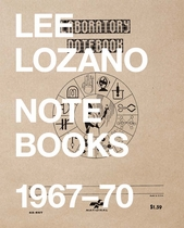 Lee Lozano: Notebooks 1967-70