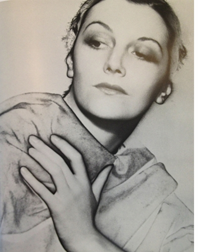 Lee Miller: Solarized Portrait of an Unknown Woman [Meret Oppenheim?]