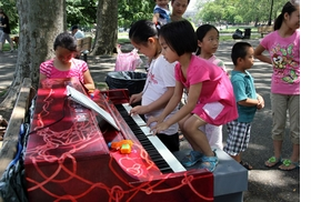 Featured image is reproduced from <I>Lekha Singh: Pop Up Pianos</I>.