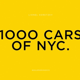 Lionel Koretzky: 1000 Cars of NYC