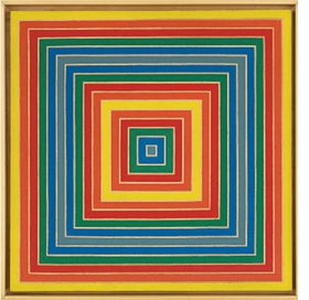 Featured image, by Frank Stella, is reproduced from 'Local History: Castellani, Judd, Stella.'