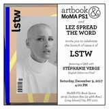 LSTW launch event at Artbook at MoMA PS1