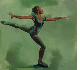 Featured image is reproduced from 'Lynette Yiadom-Boakye: Under-Song for a Cipher.'