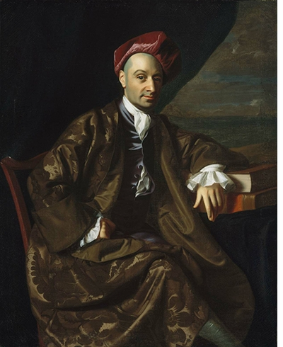 "Made in the Americas: John Singleton Copley: ""Nicholas Boylston"""