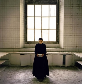 Featured image is reproduced from <I>Marina Abramovic: The Kitchen</I>.
