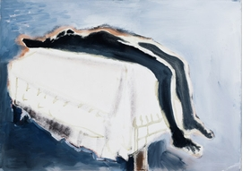 """Waiting (For Meaning)"" (1988) image is reproduced from <I>Marlene Dumas: The Image as Burden</I>."