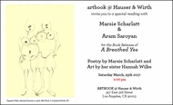 Marsie Scharlatt & Aram Saroyan Launch 'A Breathed Yes' at ARTBOOK @ Hauser & Wirth Los Angeles