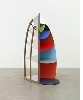 "Martin Puryear, ""Faux Vitrine"", 2014 is reproduced from <i>Martin Puryear</i>."