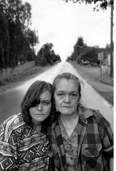 Mary Ellen Mark: Tiny, Streetwise Revisited, Tiny and Pat Along the Road