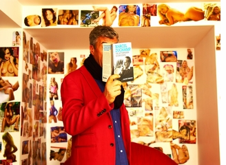 Maurizio Cattelan Recommends 'Marcel Duchamp: the Afternoon Interviews' (plus free lenticular postcard) at our Armory & Independent Bookstores