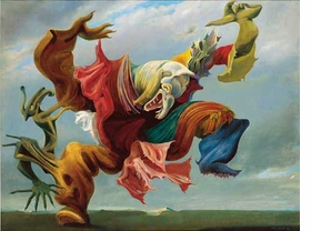 "Featured image, ""The Fireside Angel (The Triumph of Surrealism)"" 1937, is reproduced from <I>Max Ernst: Retrospective</I>."