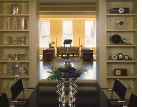 "Featured image, the interior of Bryan and Lucy Ferry's New York City apartment, is reproduced from the architectural monongraph, <a href=""9780615395791.html"" target='new'>Max Gordon: Architect for Art</a>. In his catalog essay on the late, great architect of spaces for artists and art, curator and Tate director Nicholas Serota writes, ""Gordon was something of a rarity, an architect with a passion for art who was in turn loved and admired by artists. Many architects associate with artists, and some succeed in designing spaces in which the art rather than the architecture is paramount. However, very few architects are regarded as friends and equals by artists, let alone accomplish this feat on both sides of the Atlantic. Garrulous but shy, given to one-liners but never glib, Max Gordon was a central figure in the London and New York art worlds for more than twenty years, from the late sixties until his early death at the age of fifty-nine in 1990."""